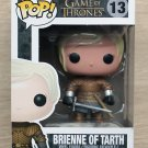 Funko Pop Game Of Thrones Brienne Of Tarth + Free Protector