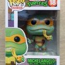 Funko Pop Retro Toys Teenage Mutant Ninja Turtles Michelangelo + Free Protector