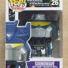 Funko Pop Retro Toys Transformers Soundwave + Free Protector