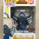 Funko Pop My Hero Academia All For One Charged (Box Damage) + Free Protector