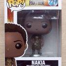 Funko Pop Marvel Black Panther Nakia + Free Protector