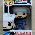 Funko Pop Retro Toys G.I. Joe Shipwreck + Free Protector