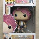 Funko Pop Fairy Tail Natsu (Box Damage) + Free Protector
