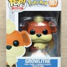 Funko Pop Pokemon Growlithe (Box Damage) + Free Protector