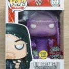 Funko Pop WWE Undertaker Hooded Purple GITD (Box Damage) + Free Protector