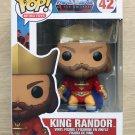 Funko Pop Masters Of The Universe King Randor + Free Protector