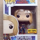 Funko Pop Marvel Captain Marvel Flight Jacket (Box Damage) + Free Protector