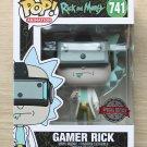 Funko Pop Rick And Morty Gamer Rick + Free Protector