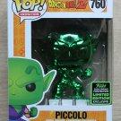 Funko Pop Dragon Ball Z Piccolo Green Chrome ECCC + Free Protector