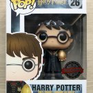 Funko Pop Harry Potter With Golden Egg (Box Damage) + Free Protector