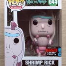 Funko Pop Rick And Morty Shrimp Rick NYCC + Free Protector