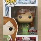 Funko Pop Disney Frozen II Anna Nightgown + Free Protector