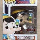 Funko Pop Disney Pinocchio With Jiminy Cricket + Free Protector