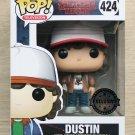 Funko Pop Stranger Things Dustin Brown Jacket + Free Protector