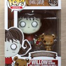 Funko Pop Games Don't Starve Willow & Bernie + Free Protector
