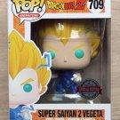 Funko Pop Dragon Ball Z Super Saiyan 2 Vegeta + Free Protector
