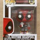Funko Pop Marvel Deadpool Bedtime Deadpool + Free Protector