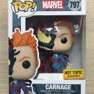 Funko Pop Marvel Venom - Carnage (Box Wear) + Free Protector