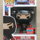 Funko Pop Masters Of The Universe Ninjor NYCC + Free Protector