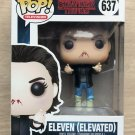 Funko Pop Stranger Things Eleven Elevated + Free Protector