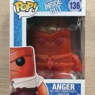 Funko Pop Disney Inside Out Anger Flaming Crystal (Box Damage) + Free Protector