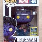 Funko Pop Marvel X-Men Nightcrawler SDCC + Free Protector