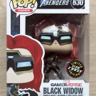 Funko Pop Games Avengers Black Widow GITD CHASE + Free Protector