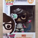 Funko Pop Games Overwatch Mei Mid Blizzard+ Free Protector