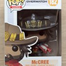 Funko Pop Games Overwatch McCree Summer Games + Free Protector