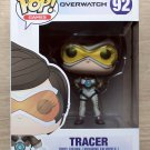 Funko Pop Games Overwatch Tracer Posh + Free Protector