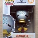 Funko Pop Games Overwatch Zenyatta + Free Protector