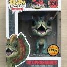 Funko Pop Jurassic Park Dilophosaurus CHASE (Box Damage) + Free Protector