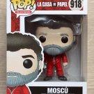 Funko Pop Money Heist (La Casa De Papel) Moscu + Free Protector