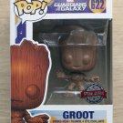 Funko Pop Marvel Groot Wood Deco (Box Damage) + Free Protector