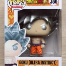 Funko Pop Dragon Ball Z Goku Ultra Instinct + Free Protector
