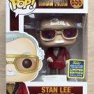 Funko Pop Marvel Iron Man Stan Lee Robe SDCC + Free Protector