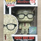 Funko Pop Office Space Sticky Note Man Think Geek + Free Protector
