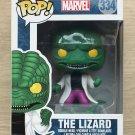 Funko Pop Marvel Spider-Man The Lizard + Free Protector