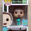 Funko Pop Rick And Morty Tracksuit Jerry SDCC + Free Protector