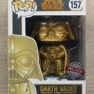 Funko Pop Star Wars Darth Vader Gold + Free Protector