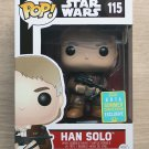 Funko Pop Star Wars Han Solo With Bowcaster SDCC + Free Protector
