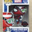 Funko Pop Marvel Spider-Man Cyborg Spider-Man + Free Protector