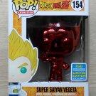 Funko Pop Dragon Ball Z Super Saiyan Vegeta Red Chrome SDCC + Free Protector