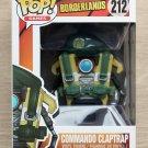 Funko Pop Games Borderlands Commando Claptrap + Free Protector