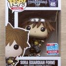 Funko Pop Disney Kingdom Of Hearts III Sora Guardian Form NYCC + Free Protector