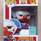 Funko Pop Disney Toy Story Chuckles SDCC + Free Protector