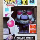 Funko Pop Teen Titans Go! Killer Moth SDCC + Free Protector