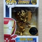Funko Pop Marvel Avengers Infinity War Iron Man Gold (Box Damage) + Protector