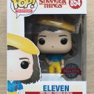 Funko Pop Stranger Things Eleven Yellow Outfit + Free Protector