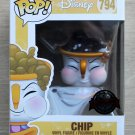 Funko Pop Disney Beauty & The Beast - Chip With Bubbles + Free Protector